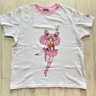 プニュズ(PUNYUS)のPUNYUS ちびうさ Tシャツ(Tシャツ(半袖/袖なし))