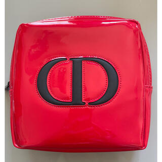 Christian Dior - クリスチャンディオール エナメルポーチ
