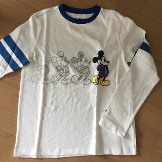 ギャップキッズ(GAP Kids)のキッズ 長袖Tシャツ ミッキーマウス  130 新品(Tシャツ/カットソー)