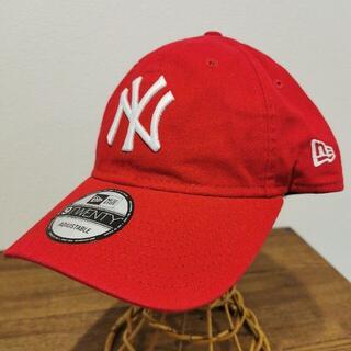 モマ(MOMA)の【新品】 MOMA x Yankees New Era Capレッド赤(キャップ)