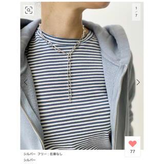 L'Appartement DEUXIEME CLASSE - 【GIGI/ジジ】Vintage chain necklace (L500mm)