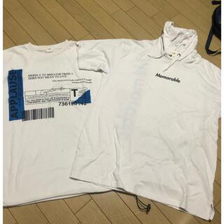 ウィゴー(WEGO)のウイゴー Tシャツ2枚セット(Tシャツ/カットソー(半袖/袖なし))