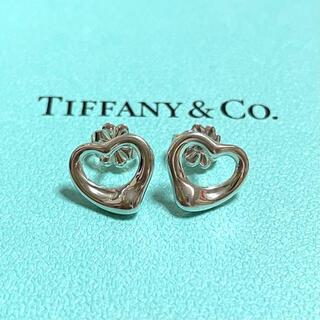 Tiffany & Co. - ティファニー オープンハート ピアス スターリングシルバー 925