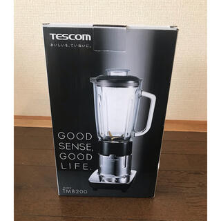 テスコム(TESCOM)のテスコム ミキサー TM8200 新品未使用(ジューサー/ミキサー)