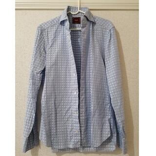 バルバ(BARBA)のバルバ ダンディライフ ホリゾンタルカラーシャツ(シャツ)