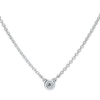 Tiffany & Co. - TIFFANY&CO. ダイヤモンド バイザヤード ネックレス 0.03カラット