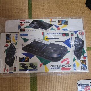 セガ メガCD2 メガドライブ専用 ゲームギア パワーバッテリー 箱のみ セット