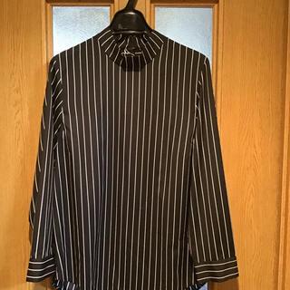 新品未使用 バジーレ 立ち襟 ストライプ ブラウス(シャツ/ブラウス(長袖/七分))