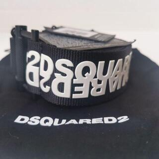 ディースクエアード(DSQUARED2)の【新品未使用】Dsquared2 ベルトガチャベルト ブラック(ベルト)