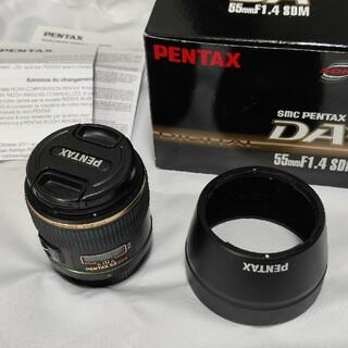 PENTAX - SMC PENTAX DA★55mm F1.4 sdm Kマウント