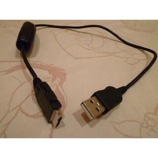エヌティティドコモ(NTTdocomo)の値下げdocomo ドコモ FOMA 充電機能付 USB 接続ケーブル02(バッテリー/充電器)