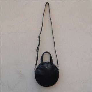 アニエスベー(agnes b.)の新品 アニエスベー ショルダーバッグ ハンドバッグ 2way ブラック(ショルダーバッグ)