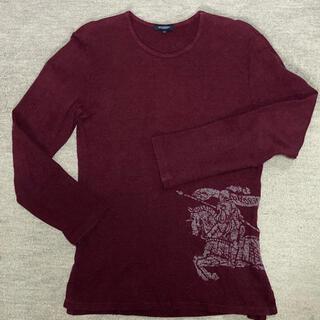 BURBERRY - ウール混セーター