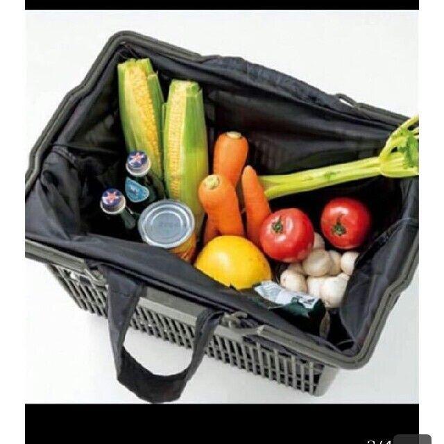DEAN & DELUCA(ディーンアンドデルーカ)のDEAN&DELUCA エコバッグ レジカゴバッグ 保冷 ケースセット レディースのバッグ(ショルダーバッグ)の商品写真
