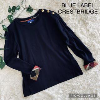 BLUE LABEL CRESTBRIDGE  三陽商会 カットソー