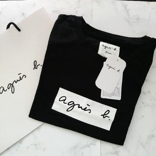agnes b. - アニエスベ-アダムエロぺボックスロゴTシャツ Lサイズ