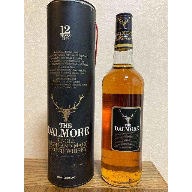 ダルモア 12年 ピュアモルト表記 食品/飲料/酒の酒(ウイスキー)の商品写真
