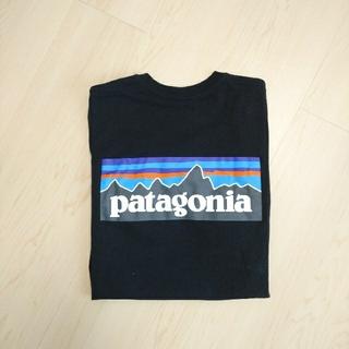 パタゴニア(patagonia)のpatagonia パタゴニア Tシャツ  XSサイズ 黒 ブラック(Tシャツ(半袖/袖なし))
