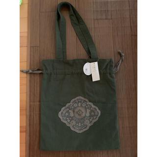 サマンサモスモス(SM2)のサマンサモスモス ムーミン&リトルミィ巾着バッグ(トートバッグ)