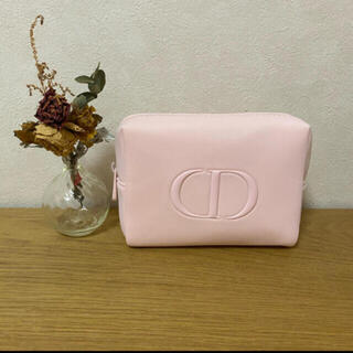 Christian Dior - ディオールピンクポーチ
