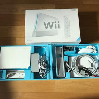 任天堂 - Nintendo Wii RVL-S-WD 本体