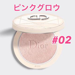 ディオール(Dior)の新作☆ ディオールスキンフォーエヴァークチュールルミナイザー 02 ピンクグロウ(フェイスカラー)