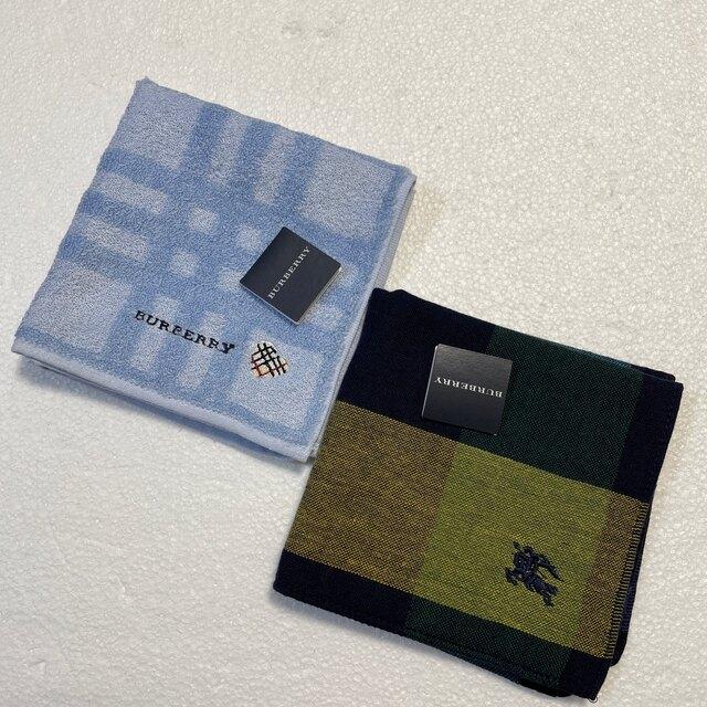 BURBERRY(バーバリー)の⭐️お値下げ⭐️新品⭐️バーバリー タオルハンカチ  レディースのファッション小物(ハンカチ)の商品写真