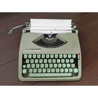 エルメス(Hermes)の【レトロ/アンティーク/稀少】HERMES BABY タイプライター 西ドイツ製(その他)