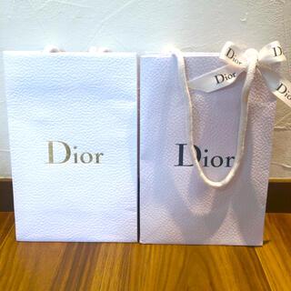 Dior - Dior 紙袋 2つ付き  美品