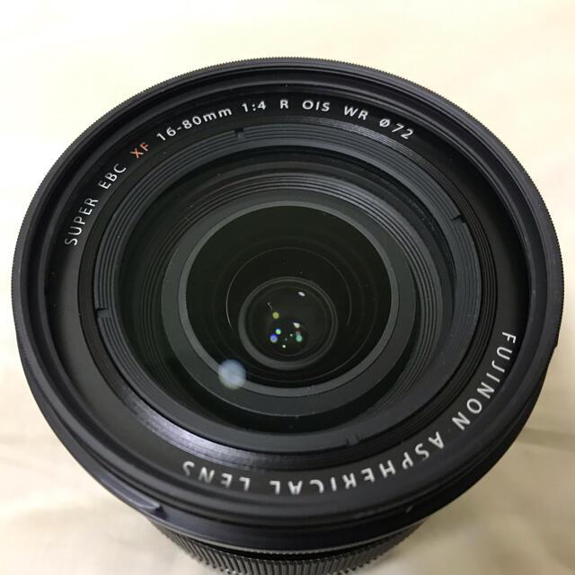 富士フイルム(フジフイルム)のXF16-80mm F4 R OIS WR 富士フイルム FUJIFILM  スマホ/家電/カメラのカメラ(レンズ(ズーム))の商品写真