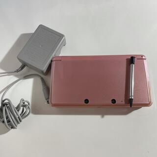 ニンテンドー3DS(ニンテンドー3DS)のニンテンドー3DS ミスティピンク(家庭用ゲーム機本体)