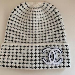 🍀ニット帽  ホワイト