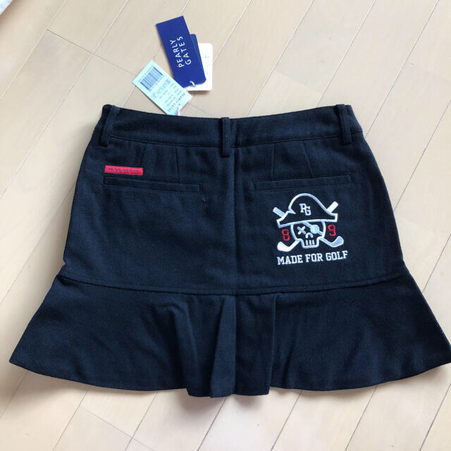 PEARLY GATES(パーリーゲイツ)のパーリーゲイツ  レディース 韓国スカート 00サイズ  スポーツ/アウトドアのゴルフ(ウエア)の商品写真