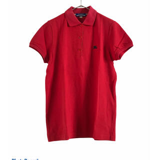 バーバリーブルーレーベル(BURBERRY BLUE LABEL)のBurberry Blue Labelバーバリーポロシャツ M(ポロシャツ)