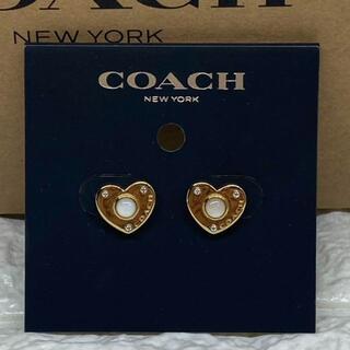 コーチ(COACH)の7【新品】コーチ レディース C4258 ハート ピアス(ピアス)