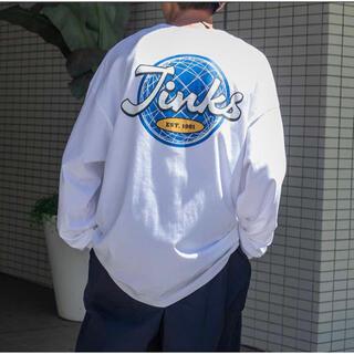 ハレ(HARE)のカレッジロゴアソートロンT ホワイト(Tシャツ/カットソー(七分/長袖))