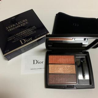 Dior - ディオールアイシャドウ トリオブリックパレット 653 限定色