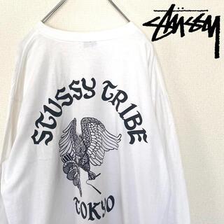 ステューシー(STUSSY)の【グッドデザイン❗️】ステューシー デザイン ロンT(Tシャツ/カットソー(七分/長袖))