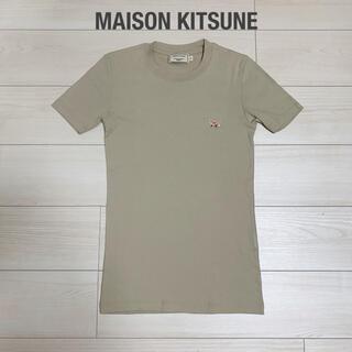 MAISON KITSUNE' - 【美品】MAISON KITSUNE メゾンキツネ 定番Tシャツ フォックスT