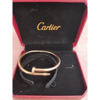 カルティエ(Cartier)の美品❀カルティエCartier ブレスレット 19cm 刻印 男女兼用(ブレスレット/バングル)