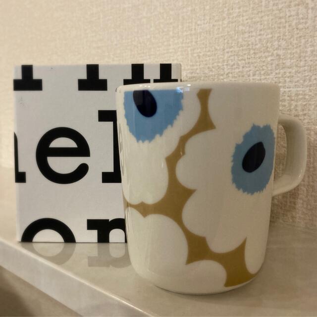marimekko(マリメッコ)の新品未使用★マリメッコ Unikko  マグカップ インテリア/住まい/日用品のキッチン/食器(グラス/カップ)の商品写真