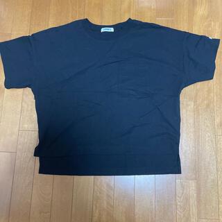 OMNES Tシャツ ブラック(カットソー(半袖/袖なし))