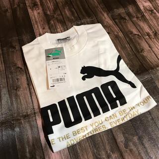 PUMA - PUMAキッズTシャツ 140 ドイツ プーマ社 ホワイトブラック