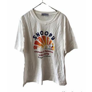 スヌーピー(SNOOPY)の大きいサイズPEANUTS SNOOPY スヌーピーTシャツ(Tシャツ(半袖/袖なし))
