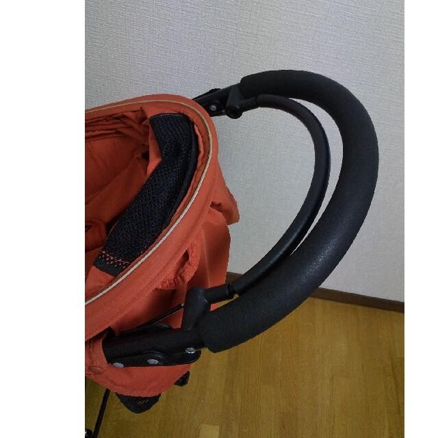 AIRBUGGY(エアバギー)の三輪 エアバギー ココ Air buggy coco ブレーキ オレンジ 美品 キッズ/ベビー/マタニティの外出/移動用品(ベビーカー/バギー)の商品写真