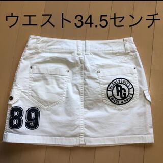 パーリーゲイツ(PEARLY GATES)のパーリーゲイツ  レディース 韓国スカート 0サイズ美品❗️(ウエア)