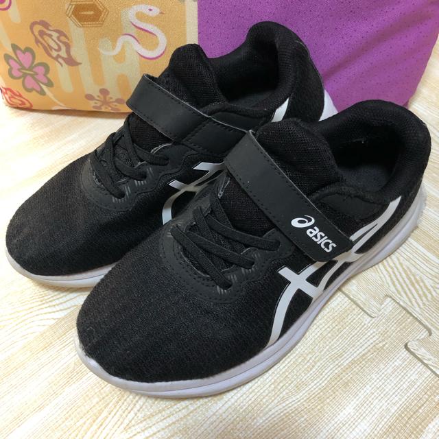 asics(アシックス)のアシックス  asics 子供 靴 22.5 キッズ/ベビー/マタニティのキッズ靴/シューズ(15cm~)(スニーカー)の商品写真