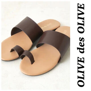 OLIVEdesOLIVE - 【新品タグ付き】OLIVEdesOLIVE♡オリーブデオリーブ トングサンダル
