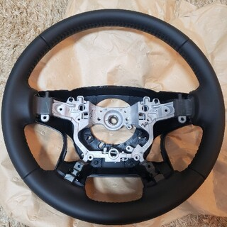 トヨタ(トヨタ)の新品、未使用30後期アルファード、ヴェルファイア純正ステアリング(車種別パーツ)