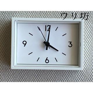 ムジルシリョウヒン(MUJI (無印良品))の駅の時計 ミニ(置時計)